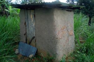 The Water Project: Bung'onye Community, Shilangu Spring -  Latrine Sample