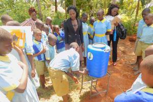 The Water Project: Mabanga Primary School -  Handwashing Training