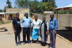The Water Project: Namarambi Primary School -  Trainers And Teachers