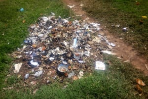 The Water Project: Ebulonga Mixed Secondary School -  Garbage Point