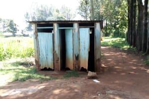 The Water Project: St. Joseph's Lusumu Primary School -  Latrines