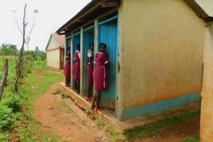 The Water Project: Mulwanda Mixed Primary School -  Latrines
