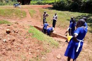 The Water Project: Demesi Primary School -  Community Spring