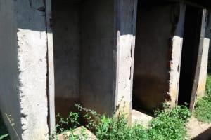 The Water Project: Enyapora Primary School -  Unusable Latrines