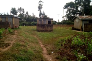 The Water Project: Bumbo Primary School -  Available Latrines