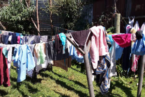 The Water Project: Banja Secondary School -  Boarding Student Clotheslines