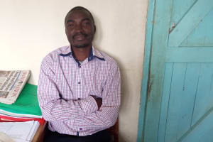 The Water Project: Ematiha Secondary School -  Teacher Dynumus