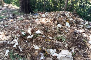 The Water Project: St. Joseph's Lusumu Primary School -  Garbage Pile