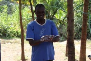 The Water Project: Bukhakunga Community, Ngovilo Spring -  Handwashing Training