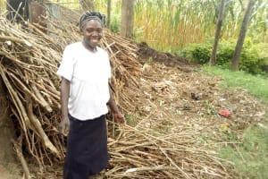 The Water Project: Eshiasuli Community, Eshiasuli Spring -  Jackline Lichuma