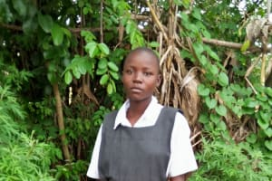 The Water Project: Tumaini Community, Ndombi Spring -  Natural Bathing Shelter