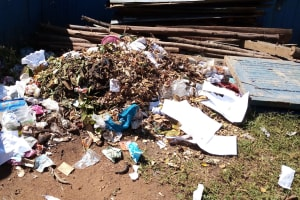 The Water Project: Banja Secondary School -  Garbage Disposal