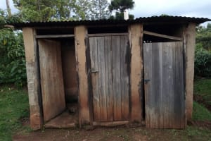 The Water Project: Womulalu Special School -  Latrines