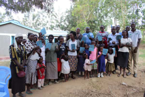 The Water Project: Bukhakunga Community, Ngovilo Spring -  Group Picture