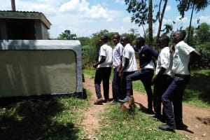 The Water Project: Bululwe Secondary School -  Latrines