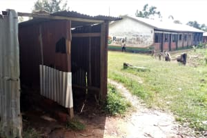 The Water Project: Mukama Primary School -  Latrines Without Doors