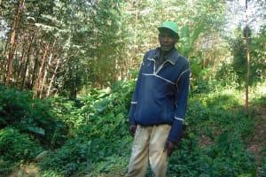 The Water Project: Shamiloli Community, Kwasasala Spring -  Mr Mambili