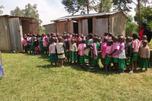 The Water Project: Ebukhayi Primary School -  Latrines