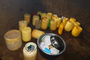 The Water Project: Hobunaka Primary School -  Water Containers