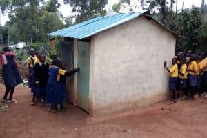 The Water Project: Friends Primary School Givogi -  Latrines