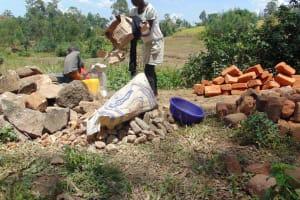 The Water Project: Mukoko Community, Mukoko Spring -  Helping The Artisan