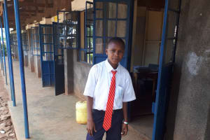 The Water Project: Ikumba Secondary School -  Patrick