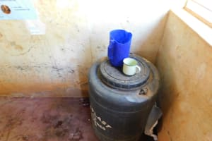 The Water Project: Hobunaka Primary School -  Drinking Water Storage