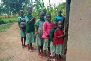 The Water Project: Bugute Lutheran Primary School -  Latrines