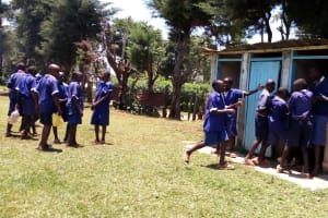 The Water Project: Demesi Primary School -  Latrines