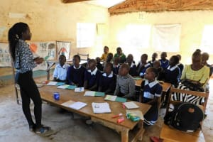 The Water Project: Shikusa Primary School -  Training
