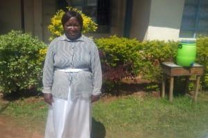 The Water Project: Ebulonga Mixed Secondary School -  Principal Rose Anindo
