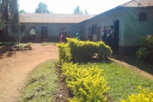 The Water Project: Kima Primary School -  Students Returning To Class