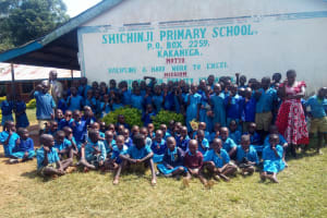 The Water Project: Shichinji Primary School -  Group Picture