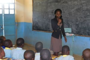 The Water Project: Mabanga Primary School -  Trainer Lynnah