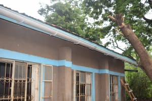 The Water Project: Kitandi Primary School -  Gutter System