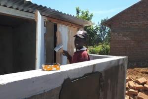 The Water Project: Namarambi Primary School -  Latrine Construction