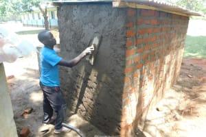 The Water Project: Mabanga Primary School -  Latrine Construction