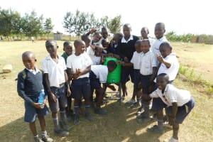 The Water Project: Shikusa Primary School -  Handwashing Station