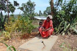 The Water Project: Bukhakunga Community, Khayati Spring -  Sanitation Platform