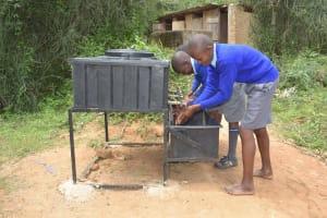 The Water Project: Kitandi Primary School -  Handwashing Station