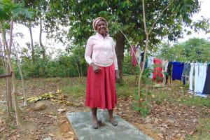 The Water Project: Mukoko Community, Mukoko Spring -  Sanitation Platform