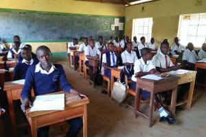 The Water Project: Bululwe Secondary School -  In Class