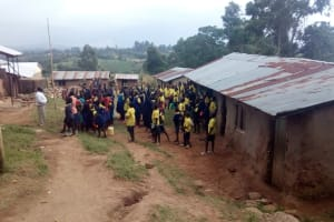 The Water Project: Kosiage Primary School -  Morning Assembly