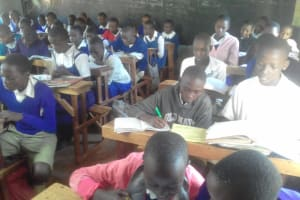 The Water Project: Kima Primary School -  Students In Class