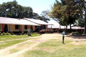 The Water Project: Banja Secondary School -  School Panorama