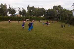 The Water Project: Banja Primary School -  Students Playing