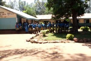 The Water Project: St. Joseph's Lusumu Primary School -  School Grounds
