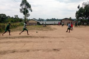 The Water Project: Bugute Lutheran Primary School -  Playing Field