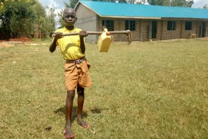 The Water Project: St. Margret Wadin'go Primary School -  Water Container