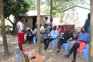 The Water Project: Bukhakunga Community, Ngovilo Spring -  Training